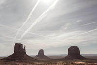 Monument Valley Vapor Trail